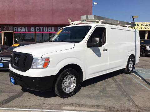 2013 Nissan NV Cargo for sale at Sanmiguel Motors in South Gate CA