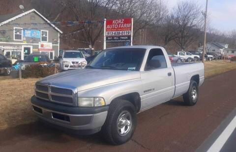 2001 Dodge Ram Pickup 1500 for sale at Korz Auto Farm in Kansas City KS