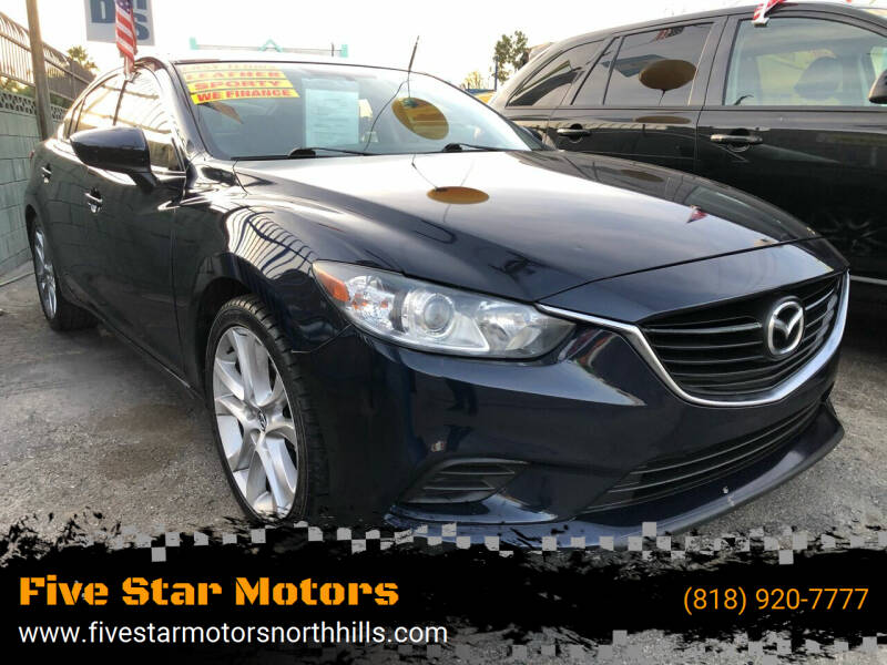 2015 Mazda MAZDA6 for sale at Five Star Motors in North Hills CA