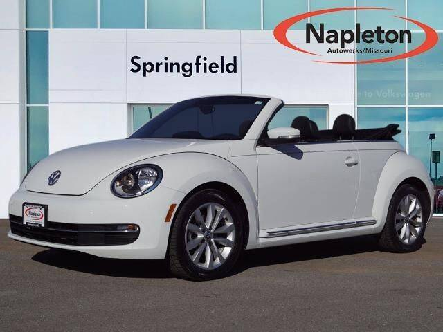 2015 Volkswagen Beetle Convertible for sale at Napleton Autowerks in Springfield MO