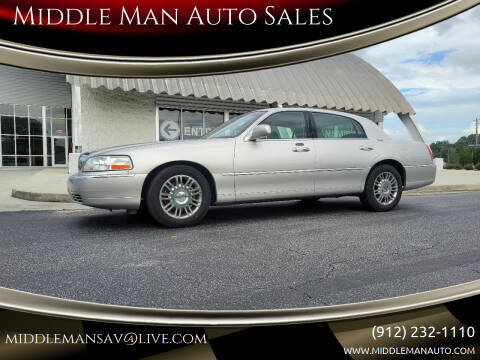 2007 Lincoln Town Car for sale at Middle Man Auto Sales in Savannah GA