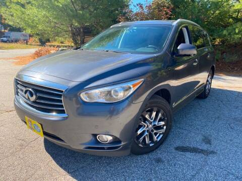 2013 Infiniti JX35 for sale at Granite Auto Sales in Spofford NH