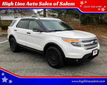 2011 Ford Explorer for sale at High Line Auto Sales of Salem in Salem NH