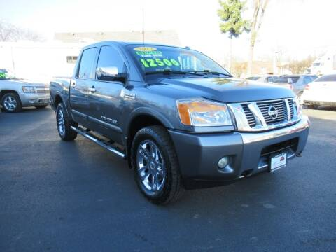 2013 Nissan Titan for sale at Auto Land Inc in Crest Hill IL
