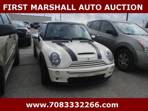 2005 MINI Cooper for sale at First Marshall Auto Auction in Harvey IL
