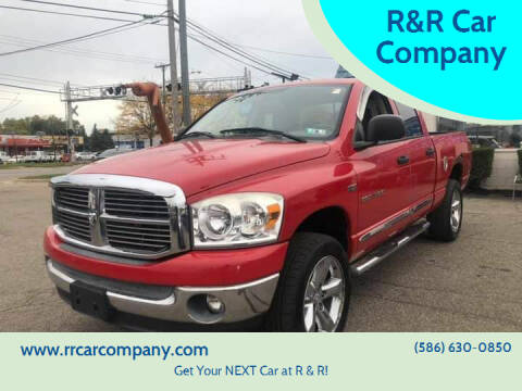 2007 Dodge Ram Pickup 1500 for sale at R&R Car Company in Mount Clemens MI