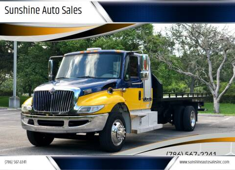 2007 International DuraStar 4300 for sale at Sunshine Auto Sales in Oakland Park FL