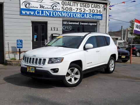 2016 Jeep Compass for sale at Clinton MotorCars in Shrewsbury MA