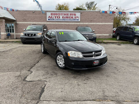 2013 Dodge Avenger for sale at Brothers Auto Group in Youngstown OH