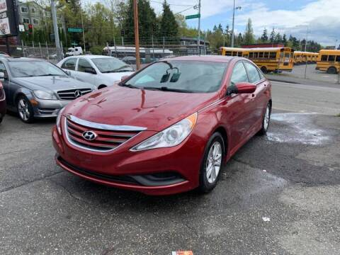 2014 Hyundai Sonata for sale at SNS AUTO SALES in Seattle WA