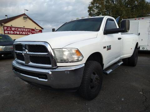 2014 RAM Ram Pickup 3500 for sale at P J McCafferty Inc in Langhorne PA