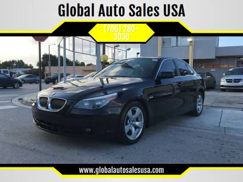 2007 BMW 5 Series for sale at Global Auto Sales USA in Miami FL