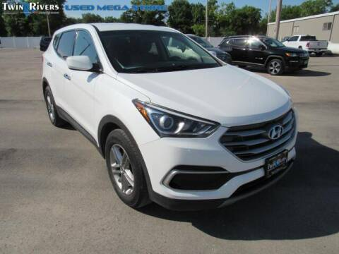 2017 Hyundai Santa Fe Sport for sale at TWIN RIVERS CHRYSLER JEEP DODGE RAM in Beatrice NE