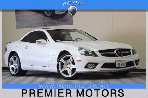 2009 Mercedes-Benz SL-Class for sale at Premier Motors in Hayward CA