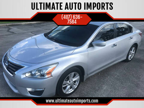 2013 Nissan Altima for sale at ULTIMATE AUTO IMPORTS in Longwood FL