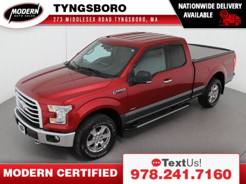 2017 Ford F-150 for sale at Modern Auto Sales in Tyngsboro MA