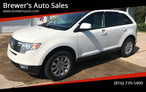 2010 Ford Edge for sale at Brewer's Auto Sales in Greenwood MO