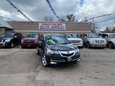 2010 Acura MDX for sale at Brothers Auto Group in Youngstown OH