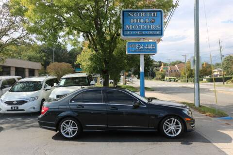 2012 Mercedes-Benz C-Class for sale at North Hills Motors in Raleigh NC