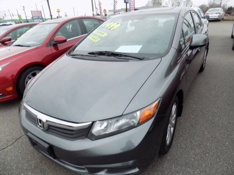 2012 Honda Civic for sale at Pro-Motion Motor Co in Lincolnton NC