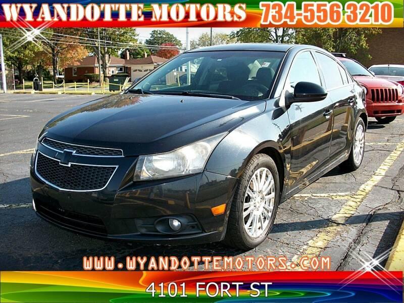 2011 Chevrolet Cruze for sale at Wyandotte Motors in Wyandotte MI