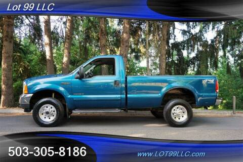 2001 Ford F-350 Super Duty for sale at LOT 99 LLC in Milwaukie OR