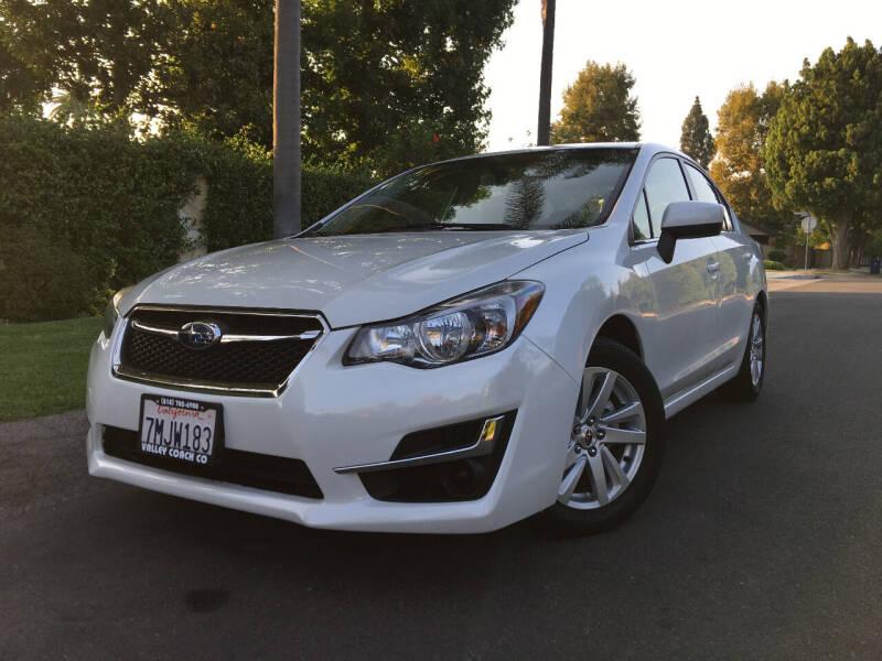2015 Subaru Impreza for sale at Valley Coach Co Sales & Lsng in Van Nuys CA