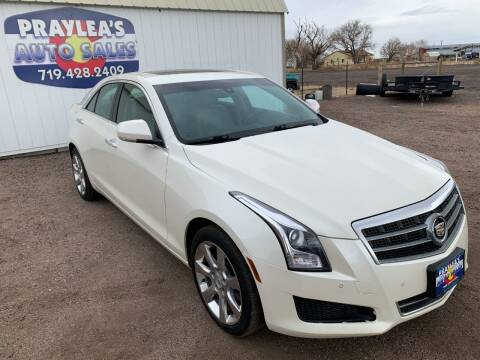 2013 Cadillac ATS for sale at Praylea's Auto Sales in Peyton CO