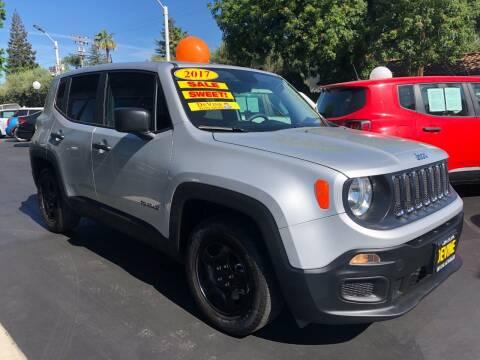2017 Jeep Renegade for sale at Devine Auto Sales in Modesto CA