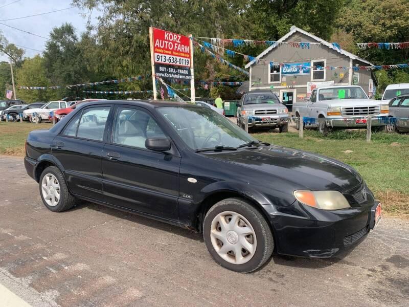 2002 Mazda Protege for sale at Korz Auto Farm in Kansas City KS