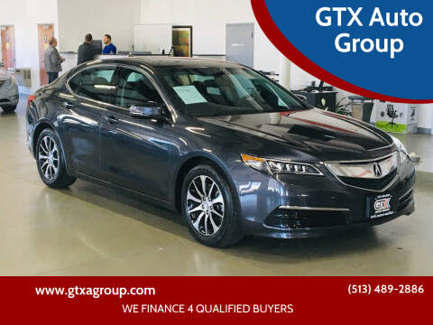 2015 Acura TLX for sale at GTX Auto Group in West Chester OH