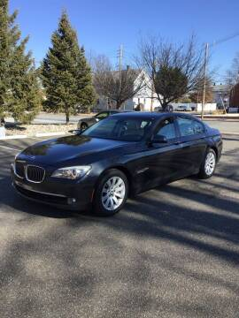2011 BMW 7 Series for sale at Bromax Auto Sales in South River NJ