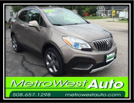 2014 Buick Encore for sale at Metro West Auto in Bellingham MA