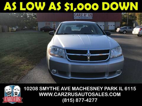 2008 Dodge Avenger for sale at Carz R Us in Machesney Park IL