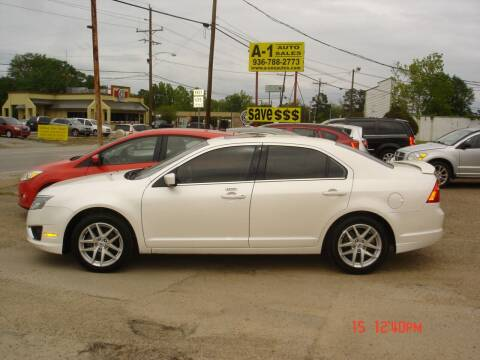 2012 Ford Fusion for sale at A-1 Auto Sales in Conroe TX