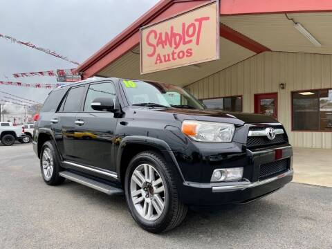 2010 Toyota 4Runner for sale at Sandlot Autos in Tyler TX