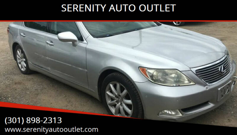 2007 Lexus LS 460L for sale at SERENITY AUTO OUTLET in Frederick MD