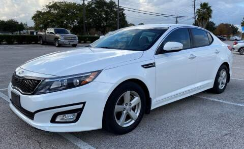 2015 Kia Optima for sale at T.S. IMPORTS INC in Houston TX