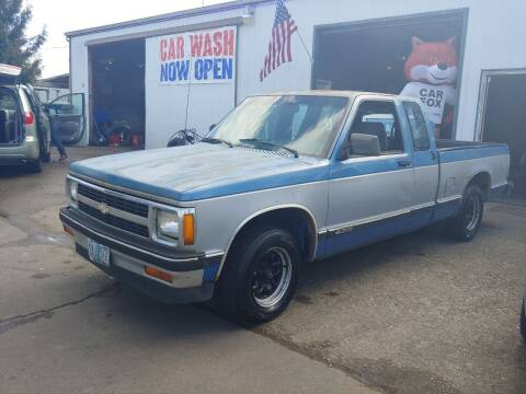 1991 Chevrolet S-10 for sale at M AND S CAR SALES LLC in Independence OR