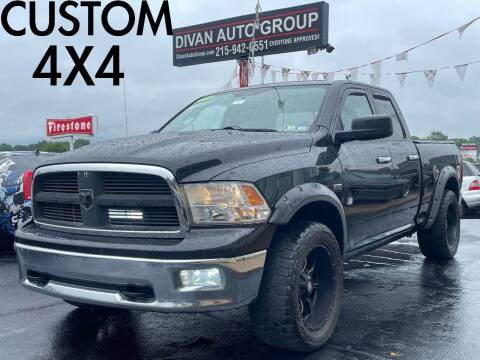 2011 RAM Ram Pickup 1500 for sale at Divan Auto Group in Feasterville Trevose PA