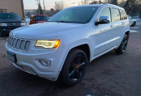 2014 Jeep Grand Cherokee for sale at Sunrise Auto Sales in Stacy MN