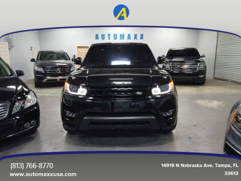 2016 Land Rover Range Rover Sport for sale at Automaxx in Tampa FL