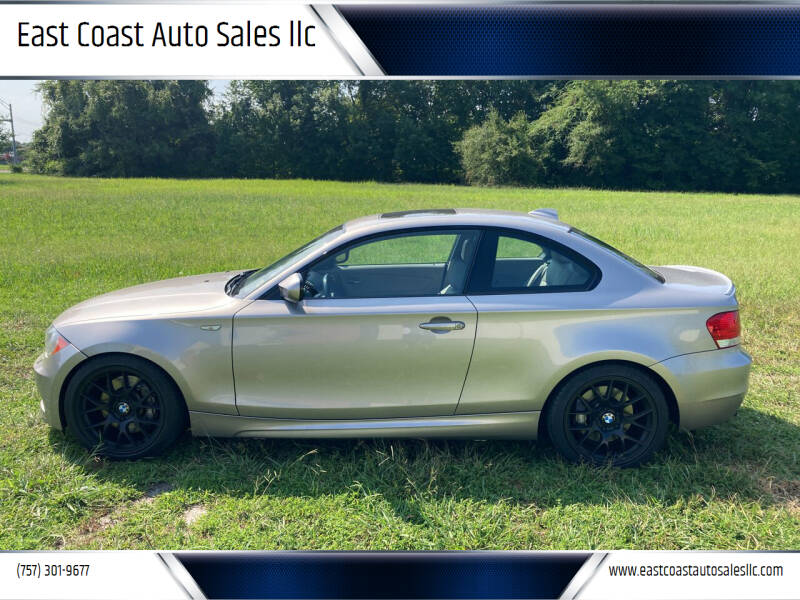 2011 BMW 1 Series for sale at East Coast Auto Sales llc in Virginia Beach VA