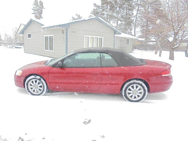 2005 Chrysler Sebring for sale at Engels Autos Inc in Ramsey MN
