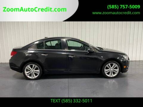 2014 Chevrolet Cruze for sale at ZoomAutoCredit.com in Elba NY