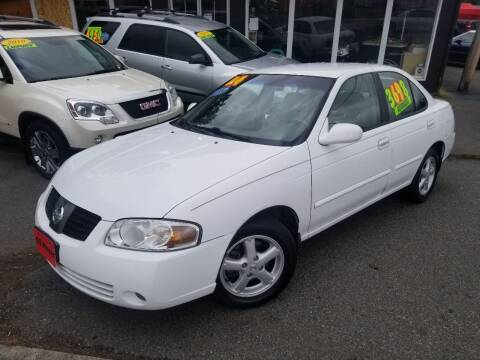 2004 Nissan Sentra for sale at SS MOTORS LLC in Edmonds WA