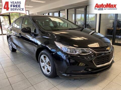2018 Chevrolet Cruze for sale at Auto Max in Hollywood FL