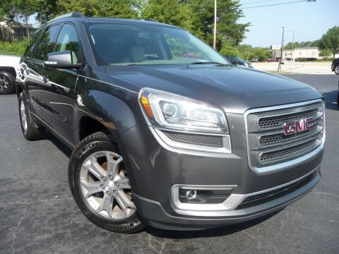 2013 GMC Acadia for sale at Wade Hampton Auto Mart in Greer SC