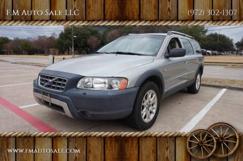 2005 Volvo XC70 for sale at F.M Auto Sale LLC in Dallas TX