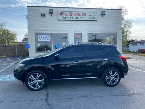 2009 Nissan Murano for sale at C & S SALES in Belton MO